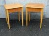 50-luvun yöpöydät