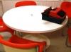 Kukkapuro Saturnus ruokapöytä